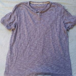 Heathered purple merona shirt